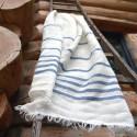 Torchon blanc chanvre ancien
