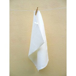 Torchon en pur lin blanc