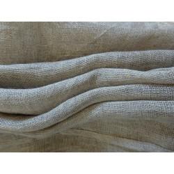 Nappe 100 % pur lin couleur naturelle 1,40 m x 1,40 m