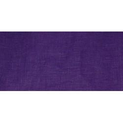 Emballage en tissu de lin violet