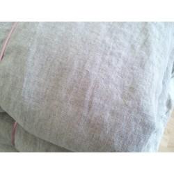 Drap-housse pour bébé en pur lin naturel fabriqué en France