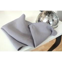 Torchon en pur lin gris