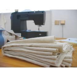 Coupon de tissu en chanvre