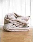 Linge de lit et draperie écologique naturelle en lin et chanvre