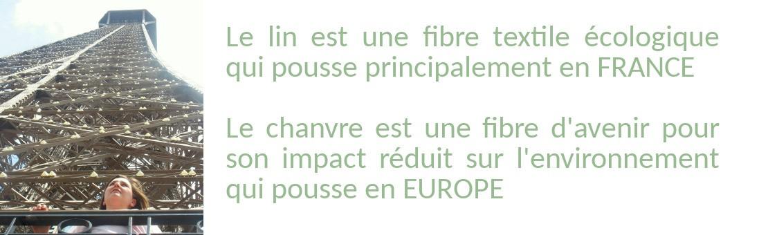 Lin français et chanvre européen